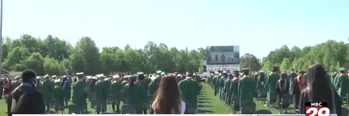 Louisa County High one of the first in VA to host in-person graduation
