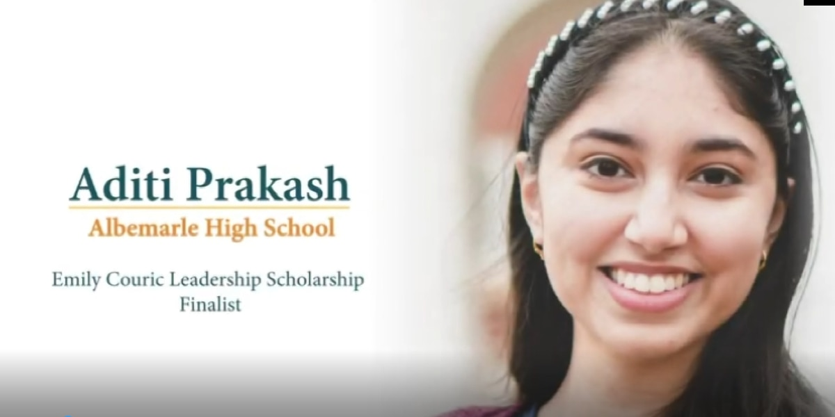 Albemarle High School student wins $35k Couric Scholarship to go to Stanford