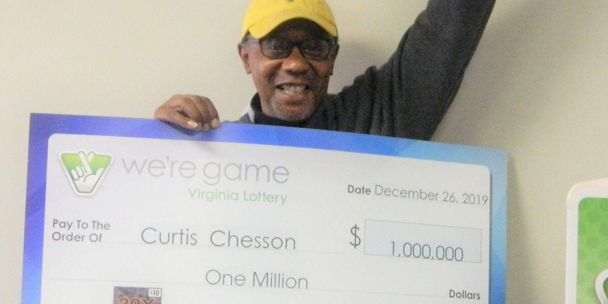 Glen Allen man wins $1 million prize in Virginia Lottery scratcher game