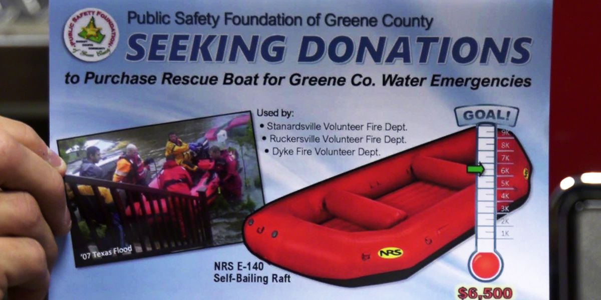 Public Safety Foundation of Greene County seeks donations for rescue boat