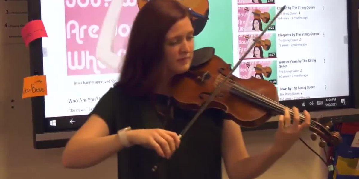 Charlottesville orchestra teacher uses hip hop to engage students
