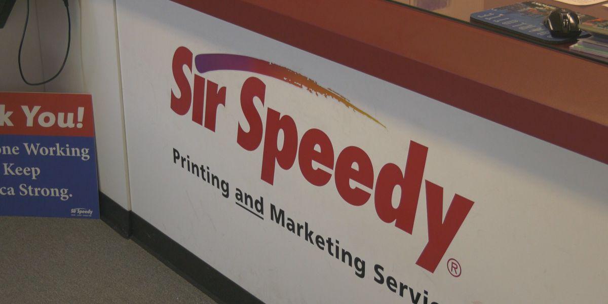 Sir Speedy helps area non-profits