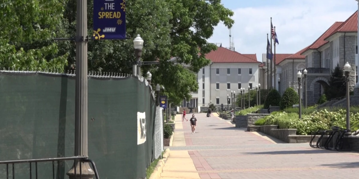 JMU reports low COVID-19 numbers following students return to campus