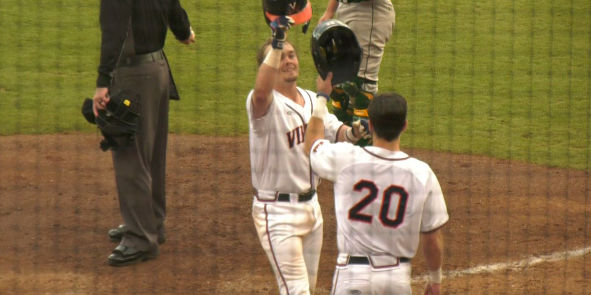 UVa baseball beats UMass-Lowell 4-3; Improves to 14-4 overall