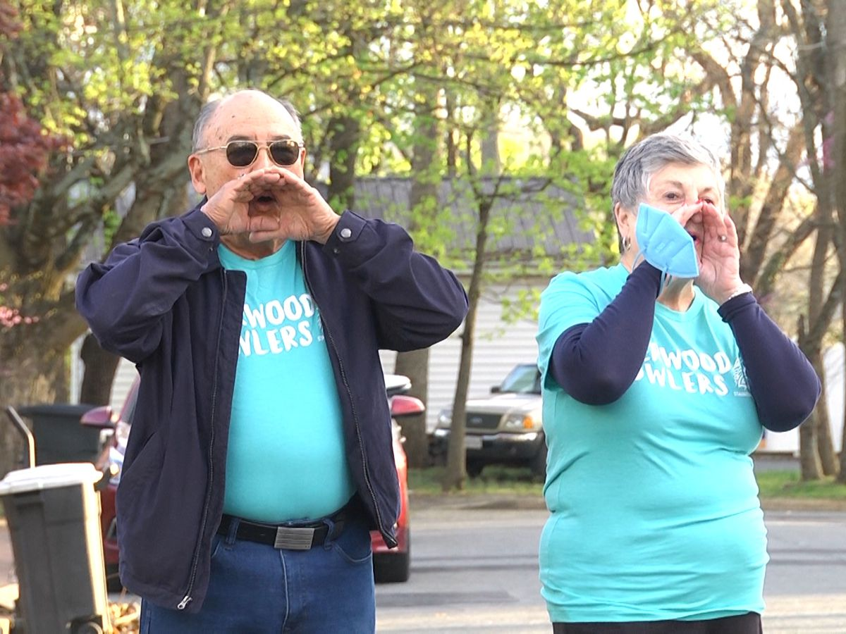 Staunton neighborhood celebrates a year of howling during the COVID-19 pandemic