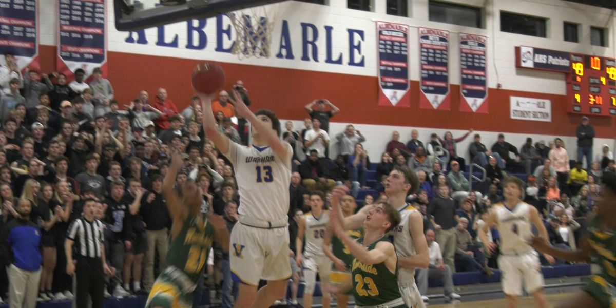 VHSL high school basketball state quarterfinals scores & highlights