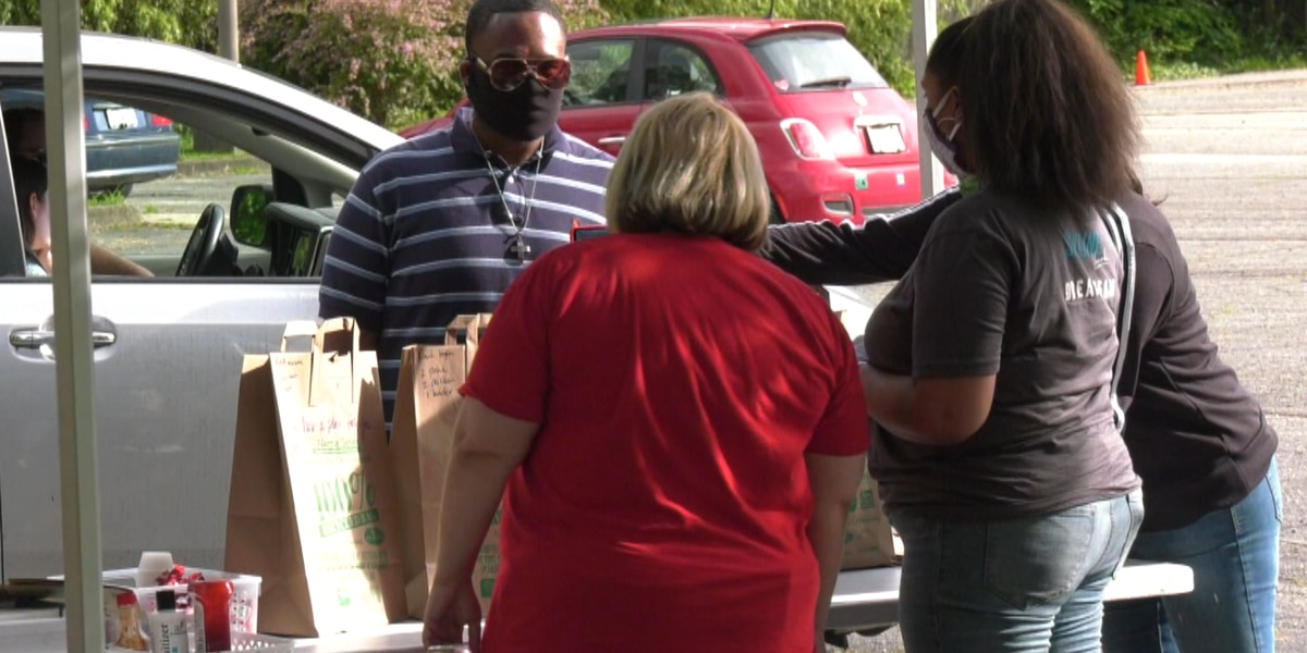 Skyline Church buys out food trucks during pandemic to feed community members