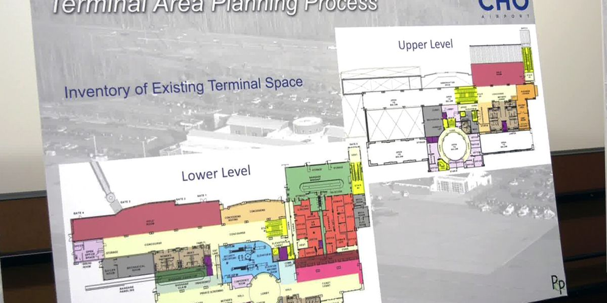 Charlottesville Albemarle Airport Authority hosts public meeting to discuss growth, terminal area plan study
