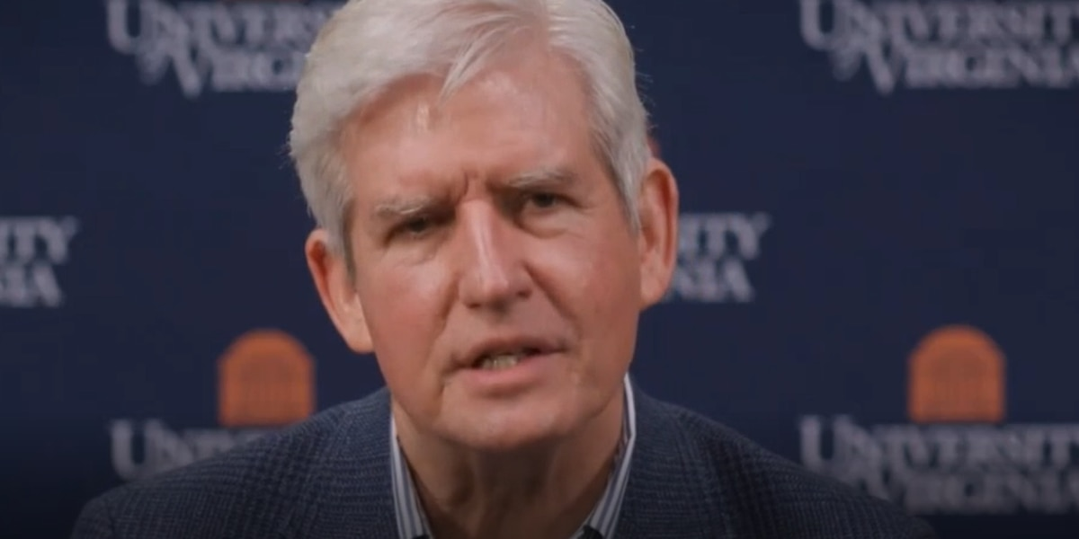UVA Dean of Students Allen Groves says he's not entirely done with Charlottesville