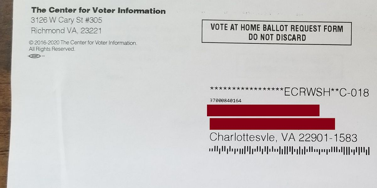 Charlottesville registrar clears up confusion about suspicious voter letter circulating