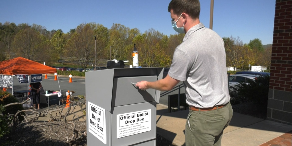 Albemarle County adding one more ballot drop box location next week