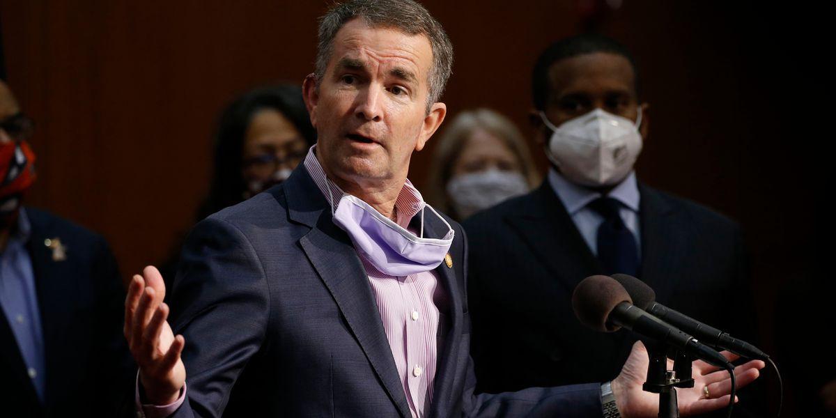 Virginia governor, wife, test positive for coronavirus