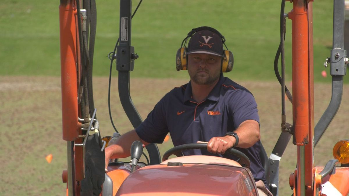 Maintenance on UVA athletic fields doesn't stop with no sports
