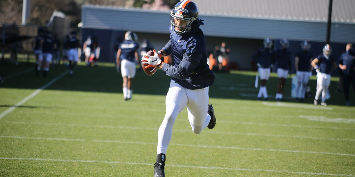 Virginia football returns to the field for Spring Practice