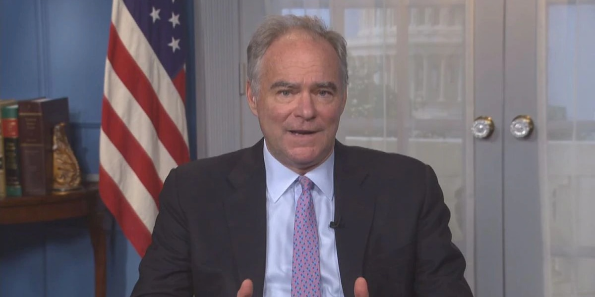 Kaine criticizes GOP senators for slow COVID-19 response, fast SCOTUS nomination