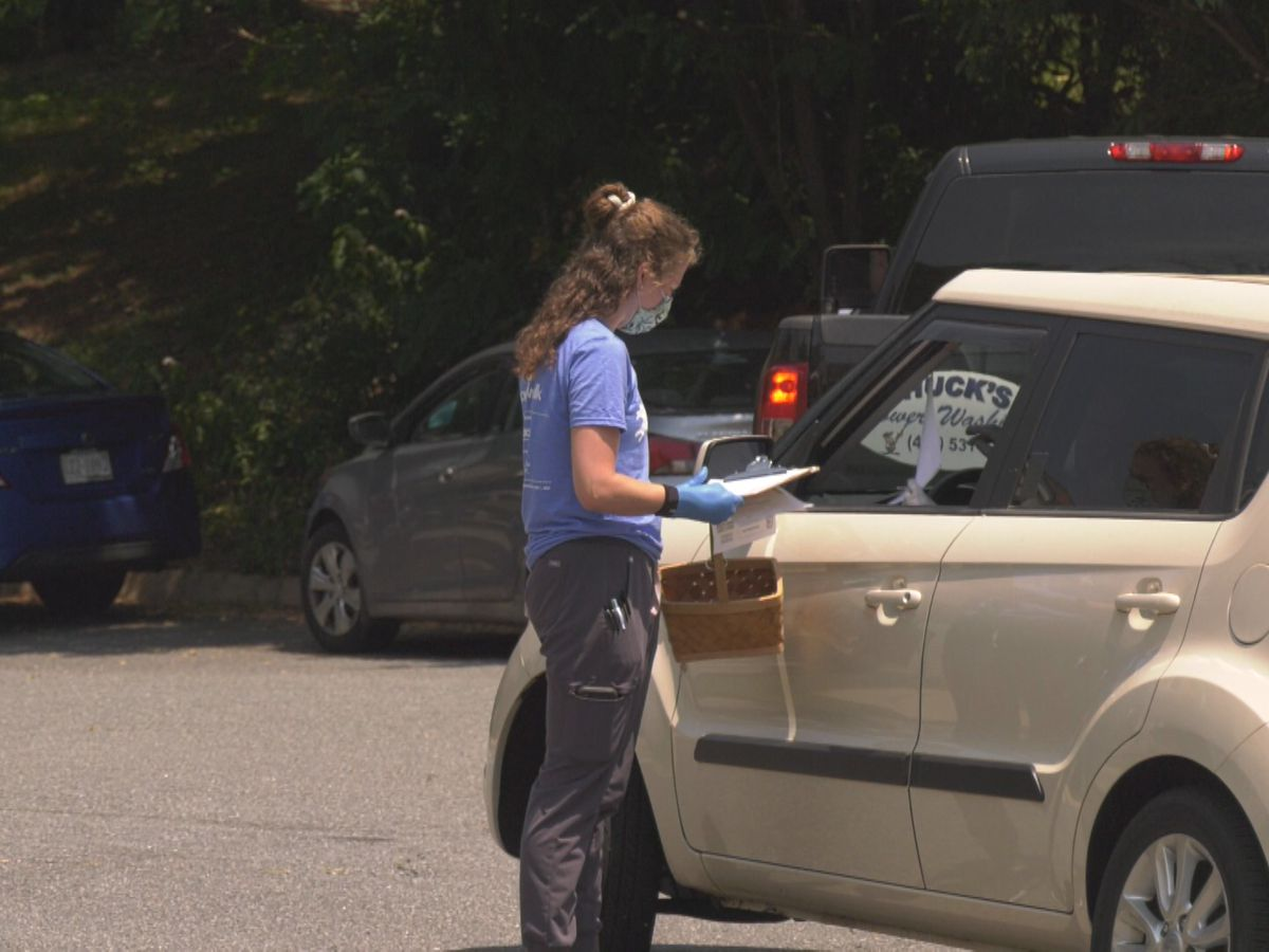 Charlottesville-Albemarle SPCA holds drive through clinic