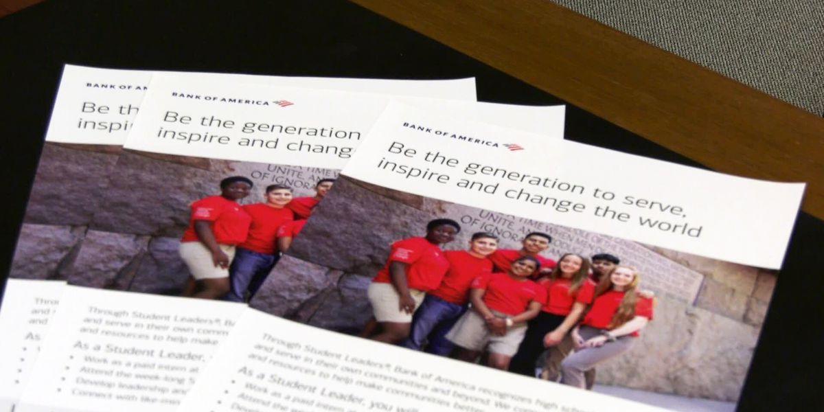 Bank of America Student Leaders Internship Program is open
