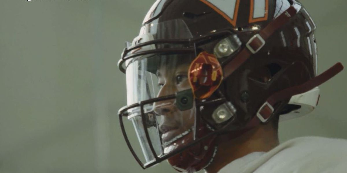 Hokies roll out face shields designed in Virginia Tech's helmet lab to help curb spread of COVID-19