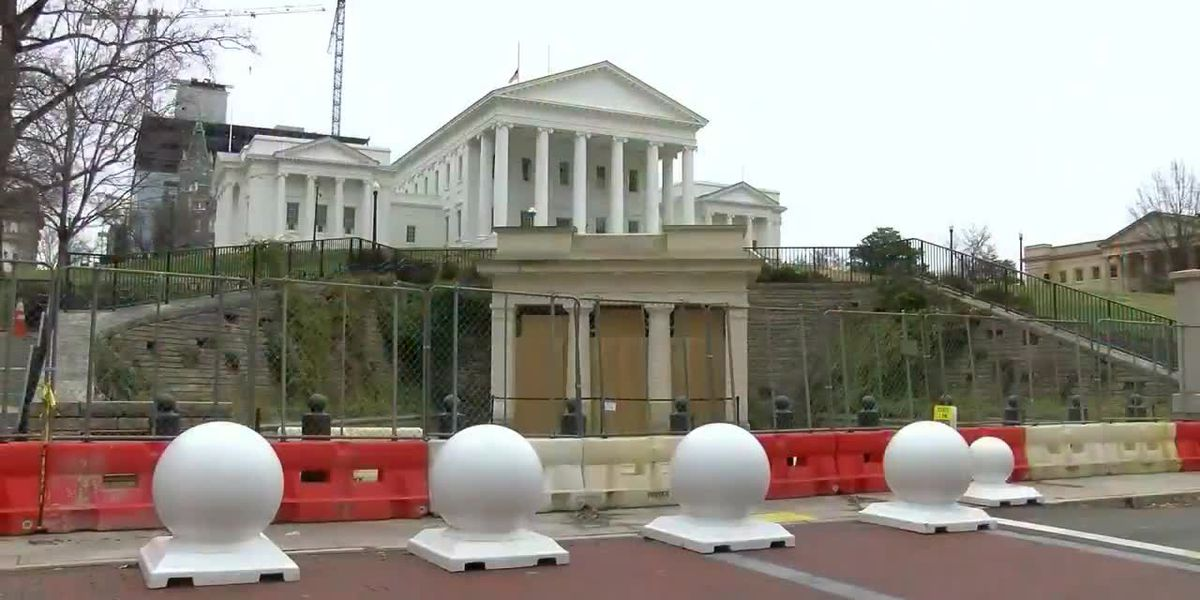 Preparations around Capitol Square being made ahead of potential demonstrations