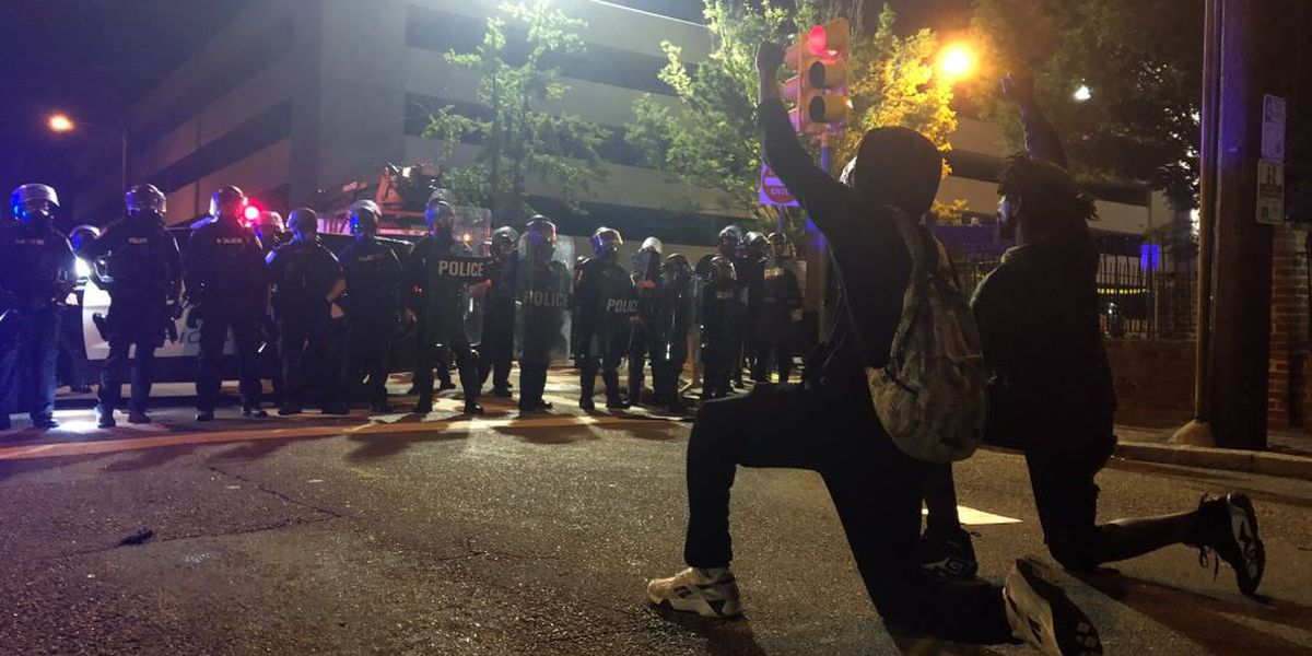 Tear gas used against protesters outside Richmond police headquarters second night in a row