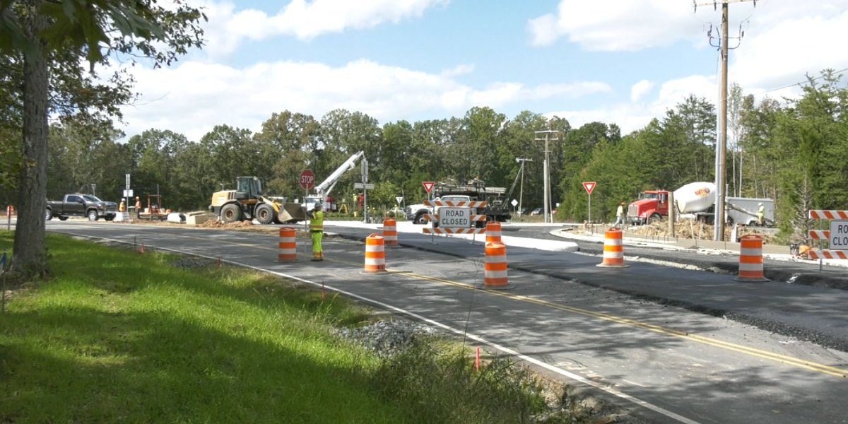 Motorists are advised about roundabout construction in Fluvanna County