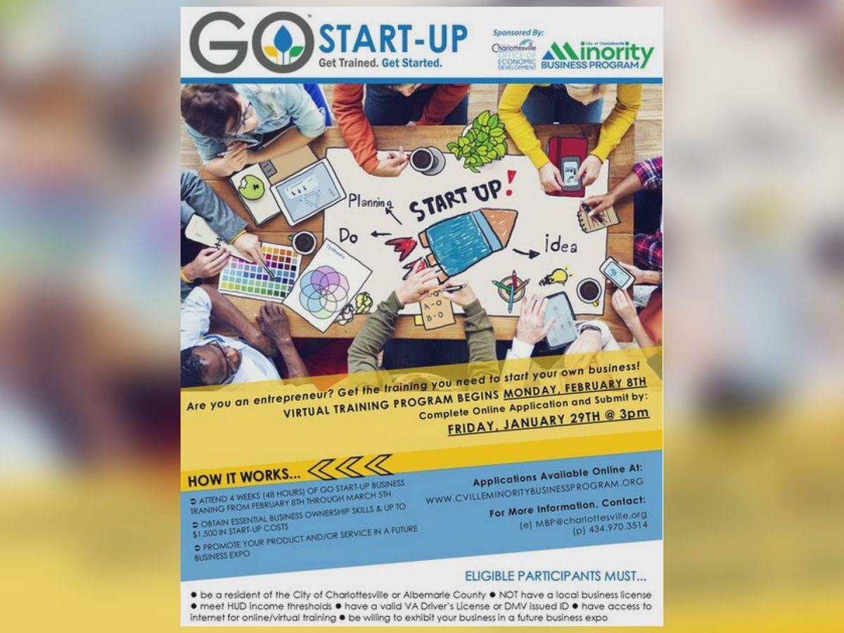 GO Start-Up Program to help hopeful entrepreneurs start a business