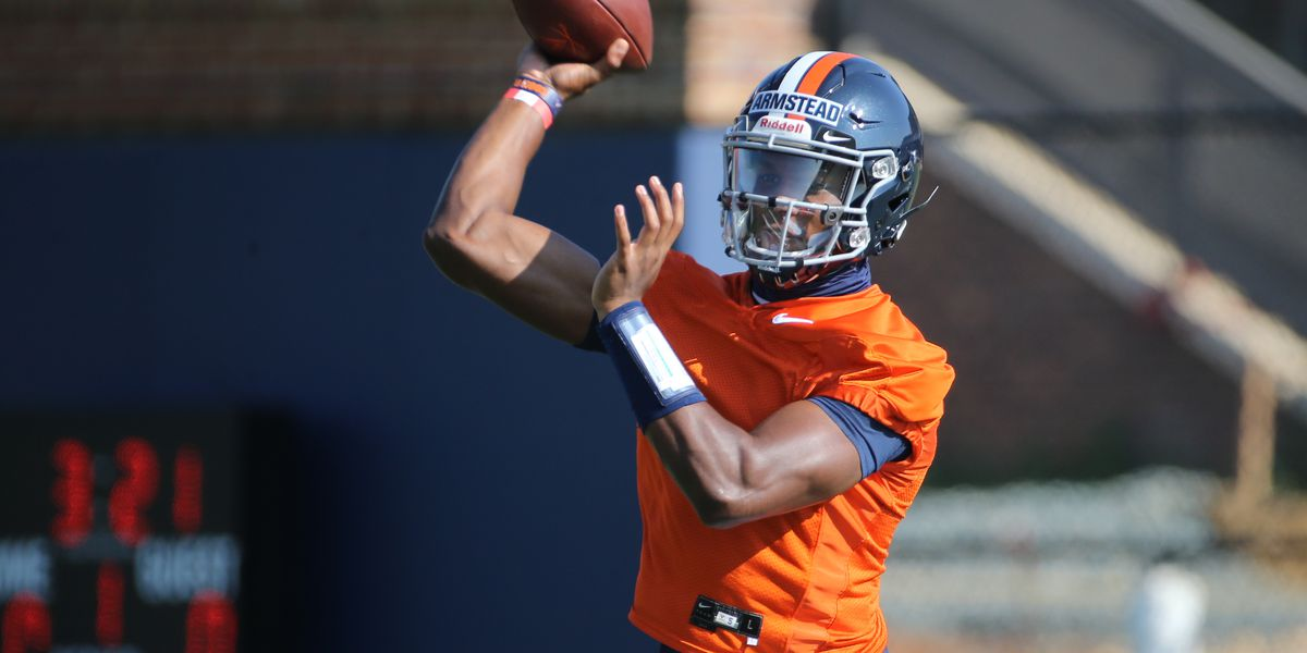 Quarterback Ira Armstead turning heads during extended practice for Cavaliers