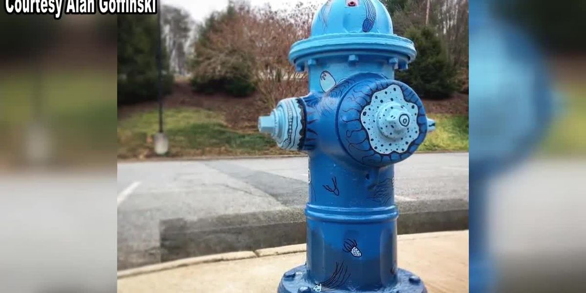 Albemarle Co. hydrants getting a face lift through 'Art on Fire' project