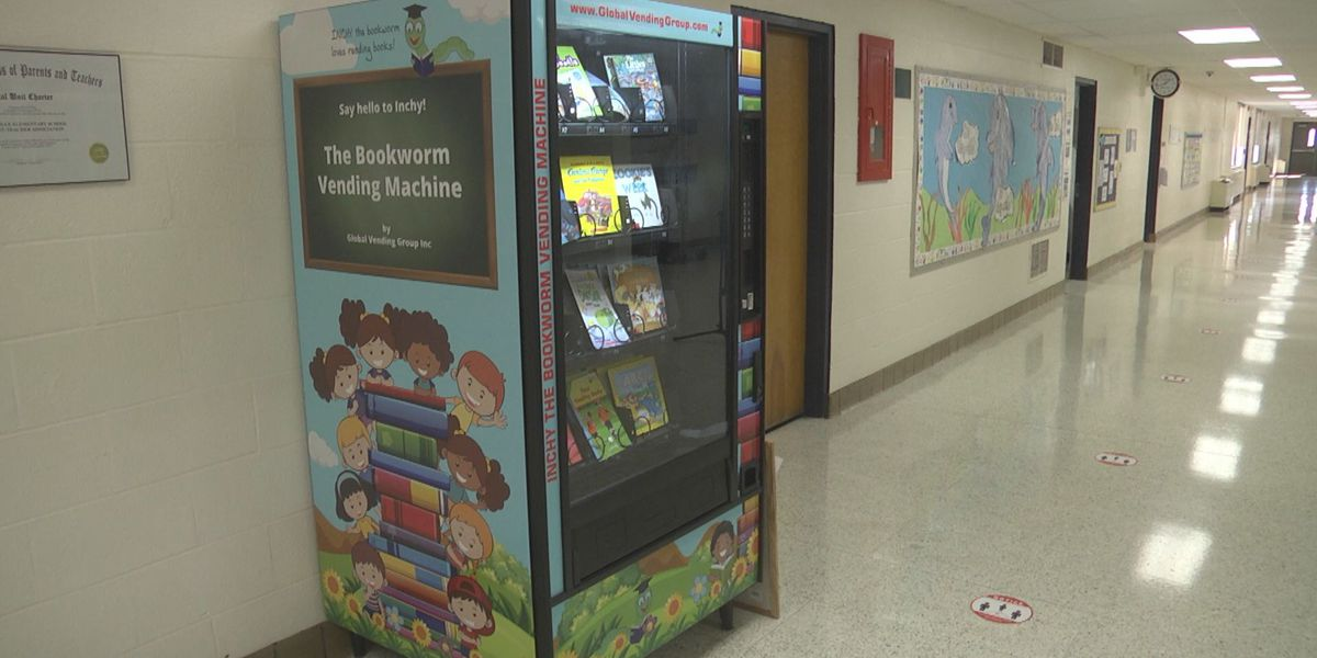 Orange Co. school gets book vending machine