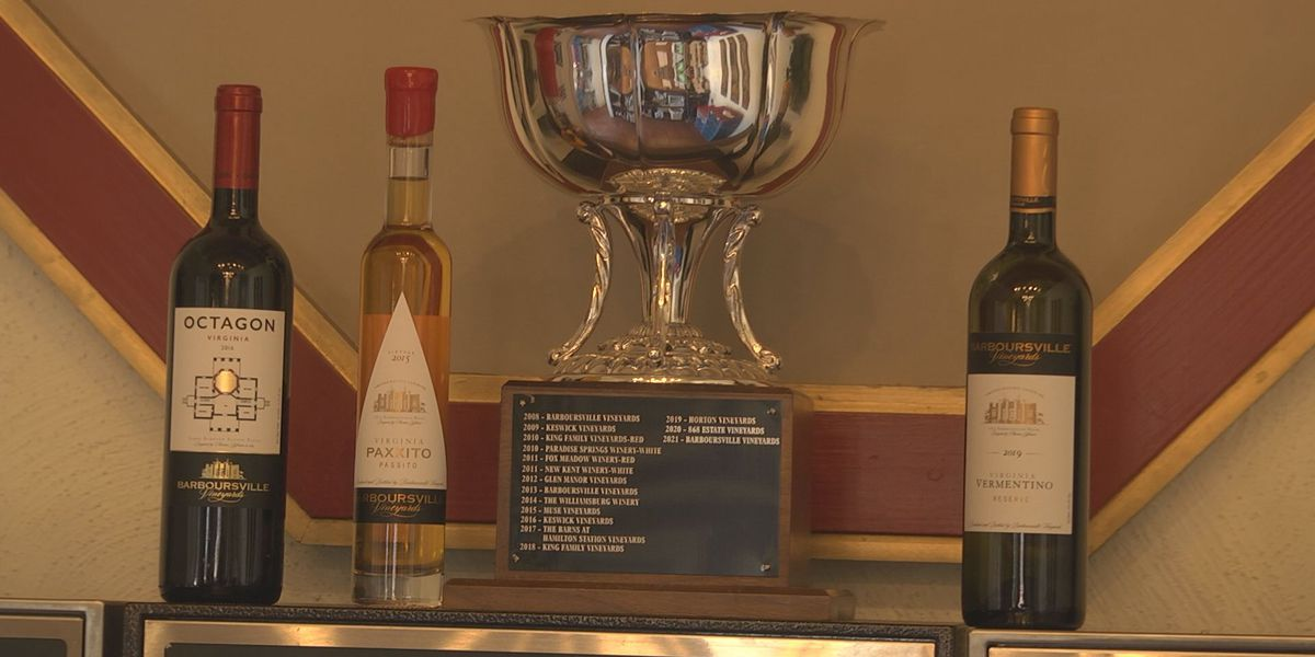 Barboursville Vineyards wins Virginia Wineries Association's 2021 Governor's Cup