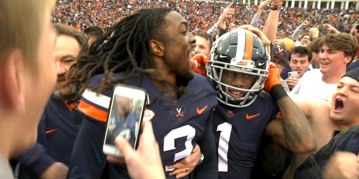 Quarterback Bryce Perkins continues to build Cavalier legacy with victory over Hokies