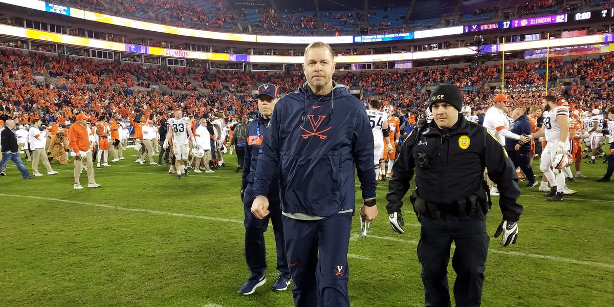 Virginia loses to Clemson 62-17 in ACC Championship