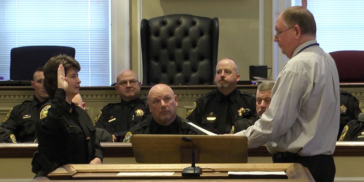 Albemarle County Sheriff Chan Bryant takes oath of office