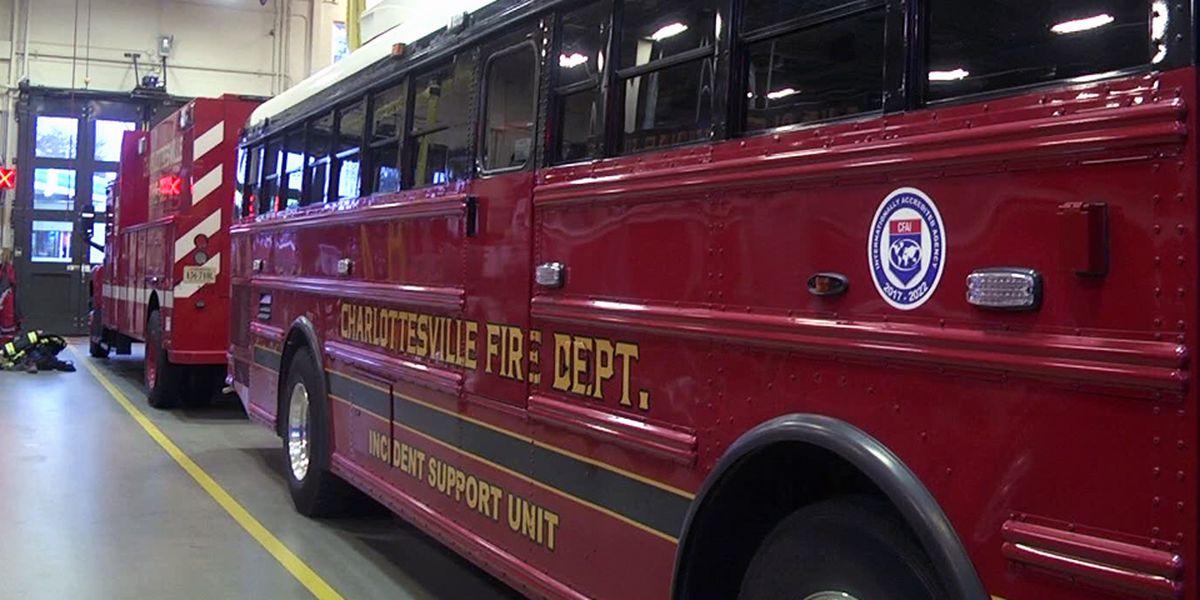 Charlottesville emergency responders put out dryer fire in 400 block of Garrett Street