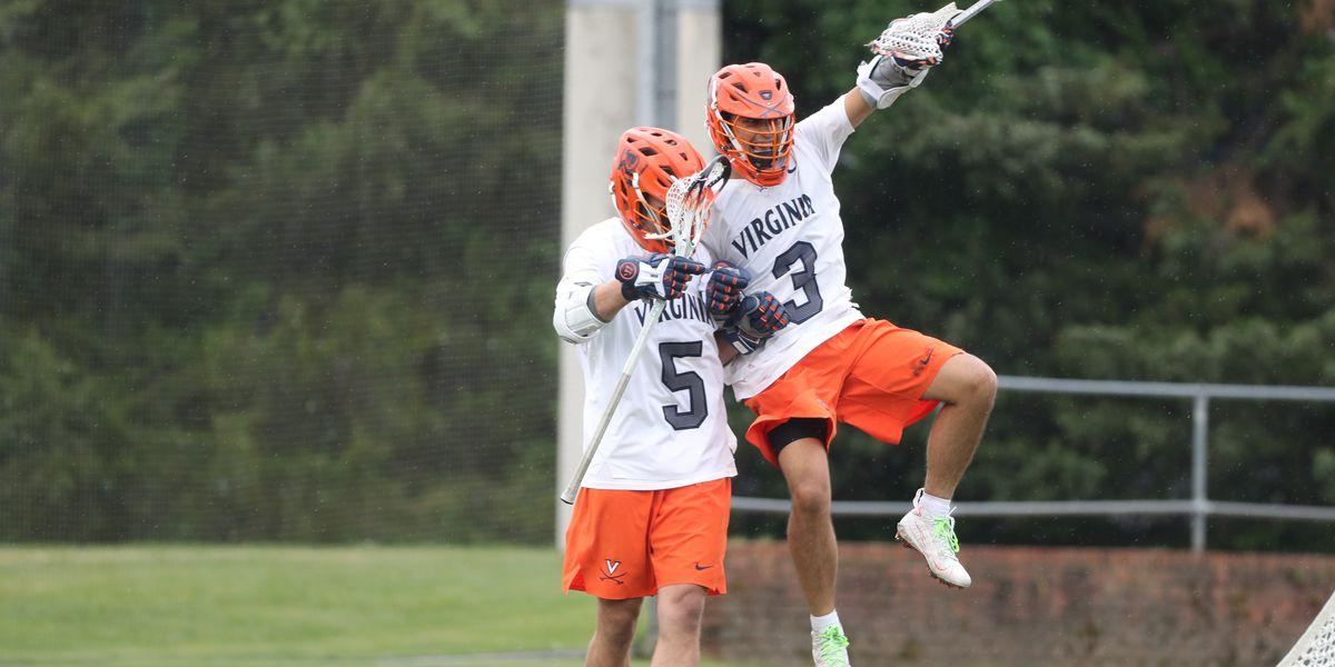 Virginia men's lax rallies to beat Bryant 13-11 in NCAA Tournament