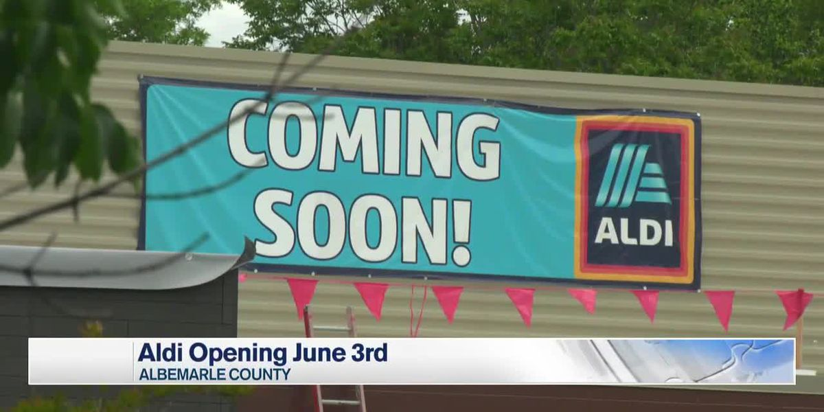 Aldi set to open in Charlottesville at beginning of June