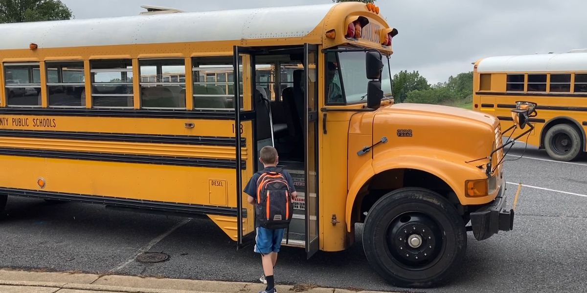 First day of school in Augusta County deemed a success by Superintendent Eric Bond