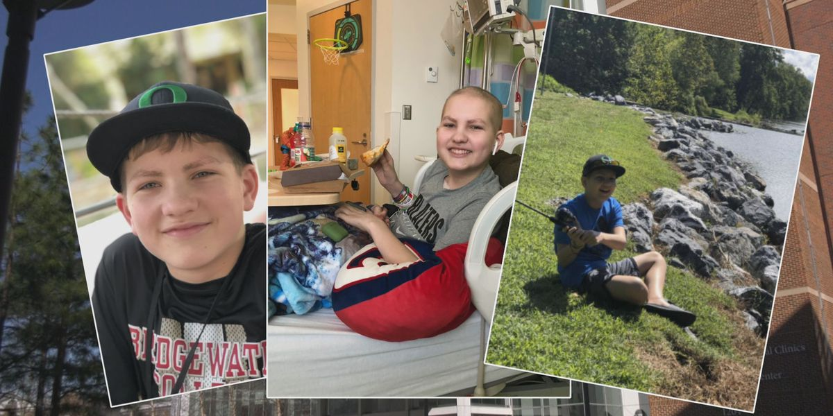 15-year-old raises thousands to help fellow teenage cancer patients at UVA Children's Hospital