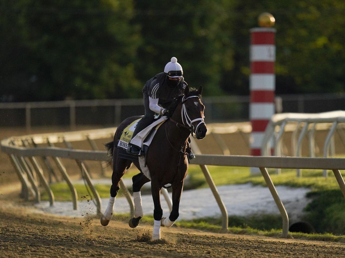 Rombauer springs big Preakness upset, Medina Spirit third