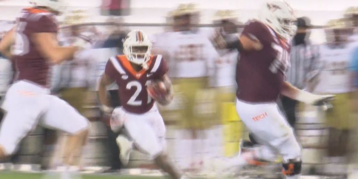 Hokies riding 4-game losing streak into regular season finale