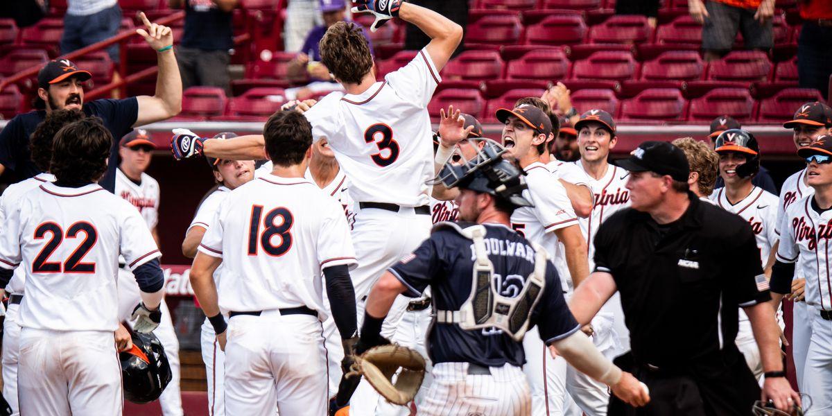 UVA baseball beats DBU 5-2; Clinches berth in College World Series