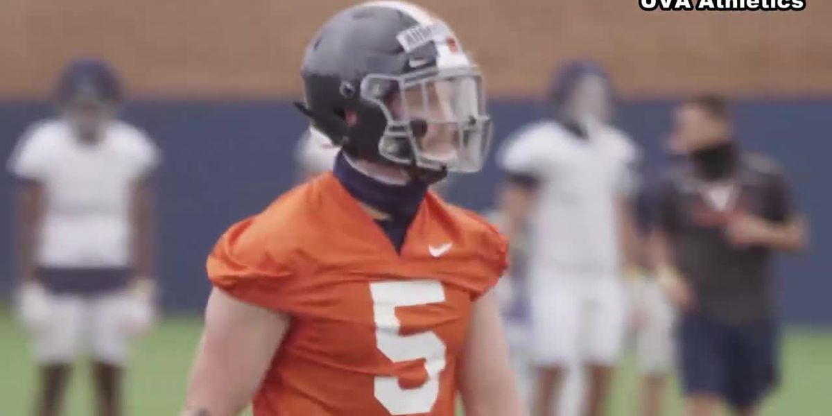UVA QB Brennan Armstrong ready for big challenge in first-career start
