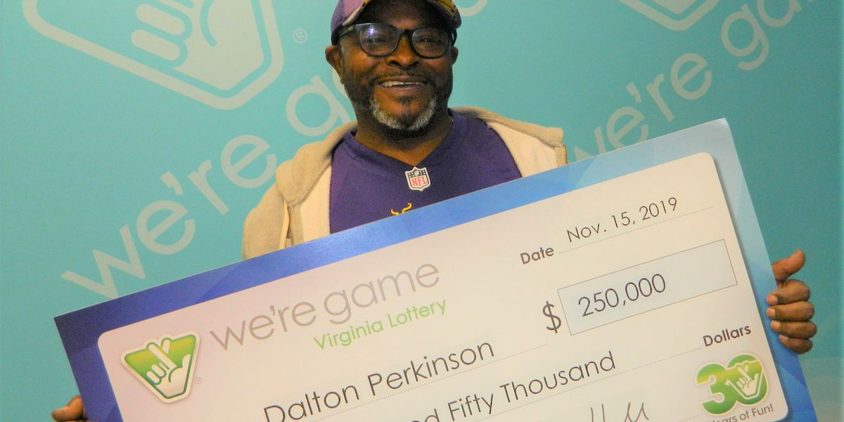 Richmond man wins big with Virginia Lottery