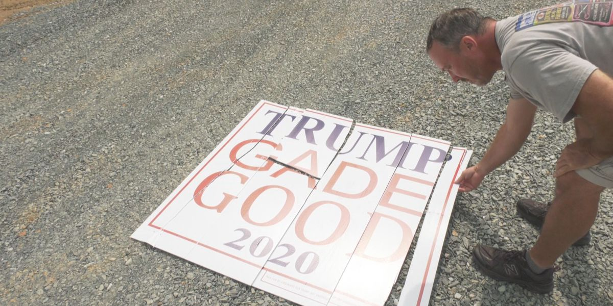 Signs supporting Republican candidates vandalized in Fluvanna County