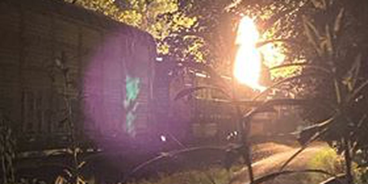 Crews respond to train fire in Albemarle County