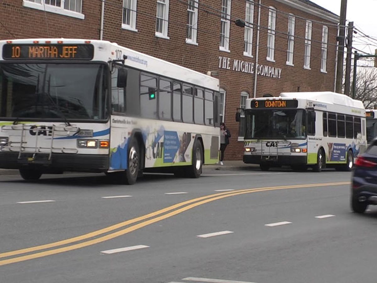 Charlottesville Area Transit implements 10 passenger capacity guideline for all buses