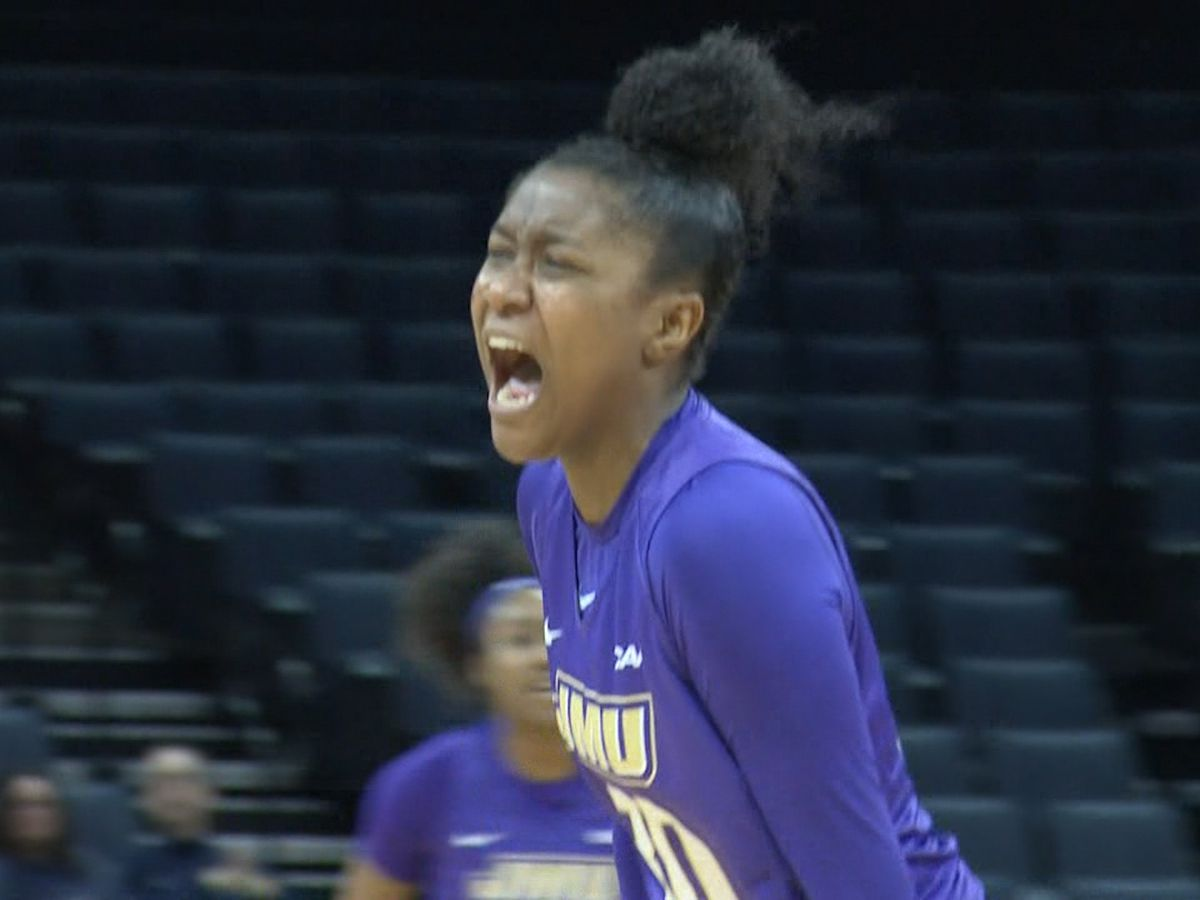 JMU women's basketball freshman Kiki Jefferson named CAA Rookie of the Week