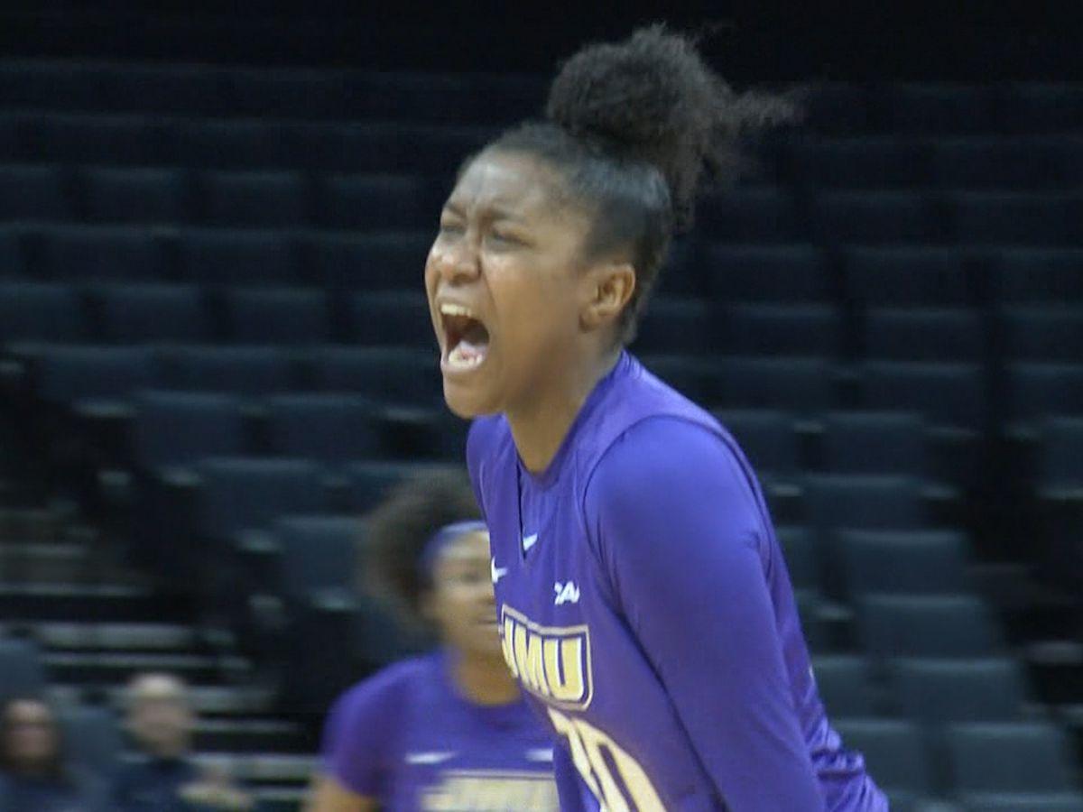 JMU women's basketball freshman Kiki Jefferson named CAA Rookie of the Week
