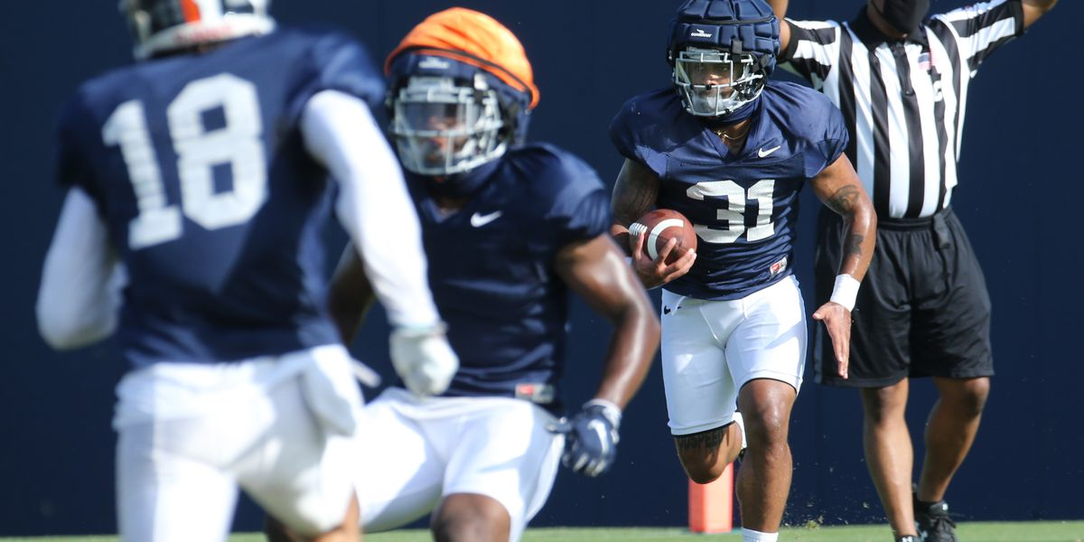 UVA transfer Shane Simpson quickly getting up to speed