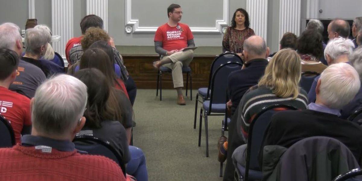 Albemarle County Democrats hold breakfast to discuss gun control legislation